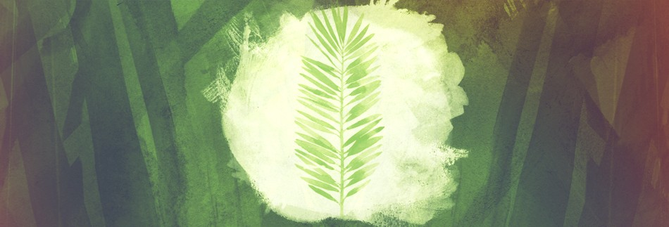 Palm Sunday Religious Website Banner